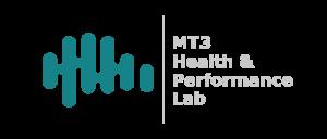MT3 Gym Logo - Light Text